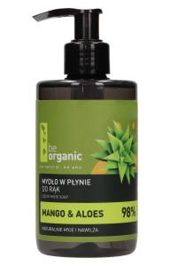 Be Organic MYDŁO DO RĄK MANGO I ALOES