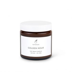 Soyoosh świeca sojowa GOLDEN HOUR 120 ml